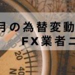 2020年7月の為替変動とFX業者ニュース