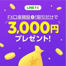 LINEFX2020年10月キャッシュバックキャンペーン