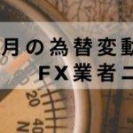 2021年5月為替変動とFX業者ニュース